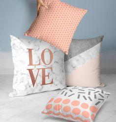 Cute Pillows, Throw Pillows, Dream Rooms, New Room, Interiores Design, Diy Room Decor, Cushions, Sofa, Bed
