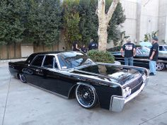 bagged 1966 lincoln continental blacked out pinterest. Black Bedroom Furniture Sets. Home Design Ideas