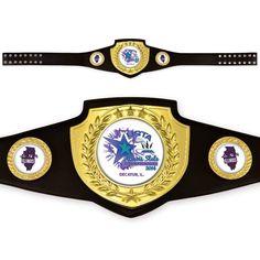 Custom Championship Awards Belts