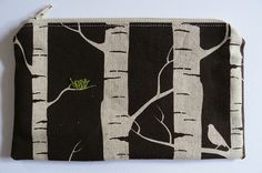 Nest on Awesome Fabric by Rebecca Cason