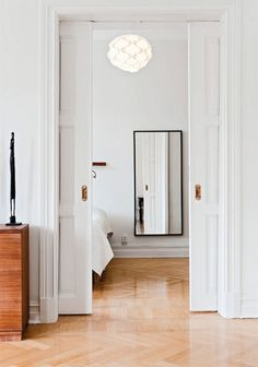 Tall pocket doors
