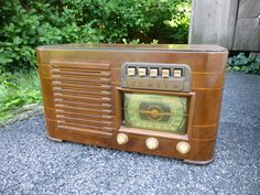 Vintage 1941 Zenith 6-S-527 Tube Radio 6S527 Shortwave AM Broadcast Works!