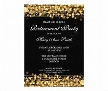 Free Retirement Invitations Template | Best Template Collection ...