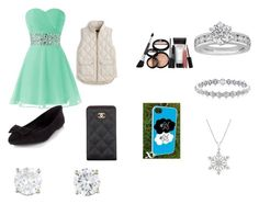 """Untitled #1"" by katelynd66 on Polyvore featuring J.Crew, Laura Geller, Chanel and Tiffany & Co."