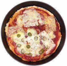 Bezlepková pizza   Bezlepkové recepty Bezlepková Pizza, Cheeseburger Chowder, Gluten Free Recipes, Free Food, Quiche, Soup, Menu, Breakfast, Diet