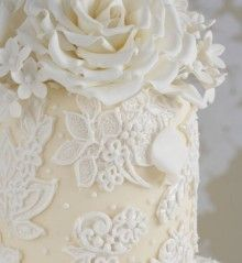 Celcakes lace moulds imported from America and used by Peggy!!