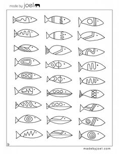 9 cool, free summer coloring pages for kids - Cool Mom Picks Summer Coloring Pages, Colouring Pages, Free Coloring Sheets, Cool Mom Picks, Operation Christmas Child, Fish Patterns, Fish Art, Fish Fish, Free Summer