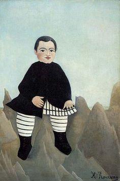 Boy On the Rocks by Henri Rousseau - Art Print  #9780587619956 #Buyenlarge #FineArt #HenriRousseau #New
