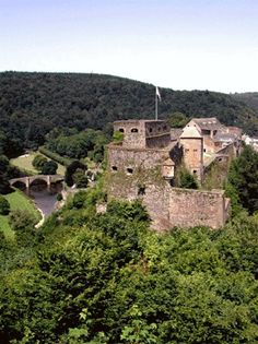 Chateau de Godefroid de Bouillon