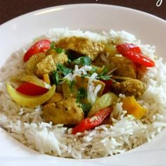 Coconut Chicken Curry {Slow Cooker, Paleo}