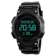 Digital Watch for Men Large Number Sports Watches with Waterproof Stopwatch Countdown Alarms EL Ligh  Digital Watch for Men Large Number Sports Watches with Waterproof Stopwatch Countdown Alarms EL Ligh  Expires Oct 12 2017