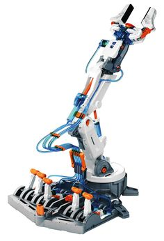 Een reeks Robotkits voor de toekomstige ingenieur. Bouw deze kits en raak op een prettige manier vertrouwd met de wereld van de elektronica, mechanica en hydraulica! Deze bouwset is de perfecte eerste stap in de wereld van hydraulica.