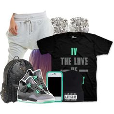Lazy Day. :p, created by jamilah-rochon on Polyvore