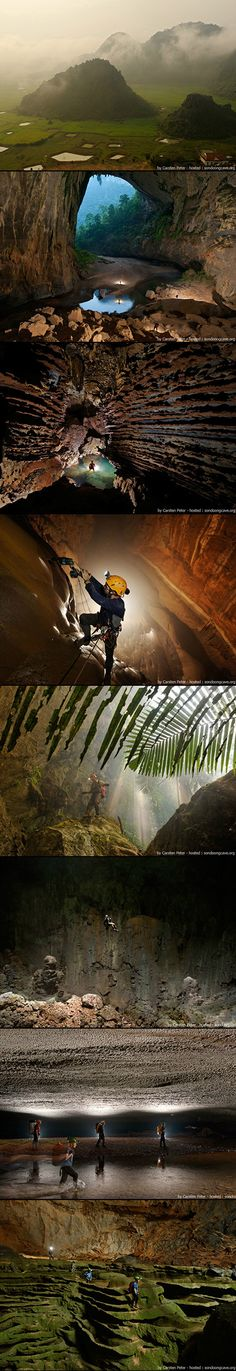The world's largest cave, Son Doong Cave