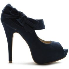 Ollio Womens Pumps Platform Open Toe High Heels Ribbon Accent Multi Colored Shoes (8, Navy) Ollio,http://www.amazon.com/dp/B00ANTRJUC/ref=cm_sw_r_pi_dp_hYWHrb8A8179428A $24.99