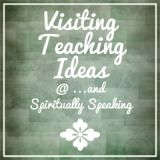 Lots of different handouts for visiting teaching each month. Plus, really great quotes!