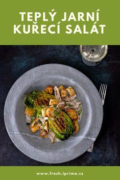 #salat #caesar #kure #recept #jidlo #primafresh Beef, Food, Meal, Essen, Hoods, Ox, Meals, Eten, Steak