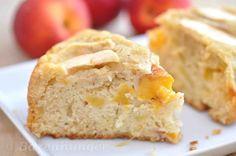 Apfel Pfirsich Kuchen 18cm