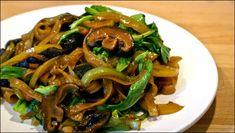 Бок-Чой, рисовая лапша, кунжутное масло, соевый соус