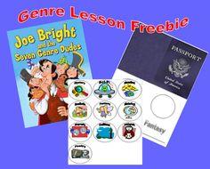 Classroom Freebies: Genre Lesson