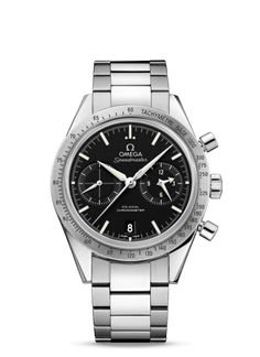 03c7438e8da7 331.10.42.51.01.001   Omega Speedmaster 57 Co-Axial Black   Bracelet