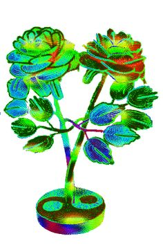 ez is ugrál Beautiful Flowers Images, Beautiful Gif, Flower Images, Beautiful Butterflies, Amazing Flowers, Beautiful Roses, Roses Gif, Flowers Gif, Love Flowers