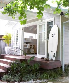 Backyard Studio, Garden Studio, Backyard House, Home And Family, Young Family, Granny Flat Plans, Garage Granny Flat, Newlyweds, Beach House Decor