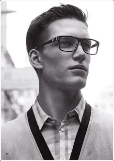 68e6bce74f 80 Glasses for Men to Look Sexy Anytime. Florian Van Bael Sets His Sights  on Hong Kong for Emporio Armani s ...
