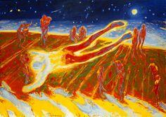 (1982). Olje på lerret. ©Widerberg, Frans/BONO Venice Biennale, Norway, Gallery, Painting, Artists, Contemporary, Inspiration, Image, Art
