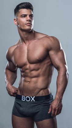 Nick Papa, Male Model, Good Looking, Beautiful Man, Guy, Hot, Sexy, Handsome, Eye Candy, Muscle, Hunk, Abs, Sixpack, Shirtless, Undies, Underwear 男性モデル アンダーウェア 下着