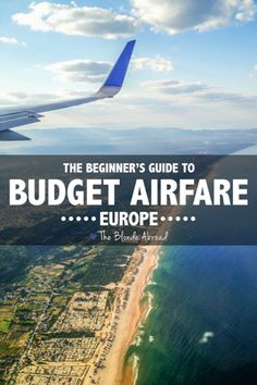 Flying can be the most affordable and time saving way to travel around Europe. Read on for MUST KNOW tips for beginner's booking budget airfare in Europe! Cheap Flights To Europe, Travel Europe Cheap, Backpacking Europe, Budget Travel, Travel Tips, Travel Checklist, Travel Hacks, Travel Ideas, Travel Inspiration
