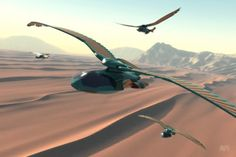 Image result for ornithopter dune