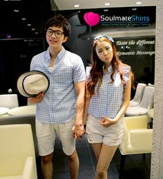 Matching Couple Outfits, Matching Couples, Ulzzang Fashion, Asian Fashion, Couples Assortis, Couple Tees, Korean Couple, Ulzzang Couple, Fashion Couple
