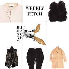 What a week! Wishing everyone a #HappyFriday as well as a sneak peek to our upcoming seasonal #essential series: BunnyJack's #WeeklyFetch. As soon as we launch you'll be able to get weekly updates of Jack's favorite picks that'll keep you looking good for the weather ahead. Here's a sprinkling of what's to come… #JilSander, #BALMAIN, #Moncler, #BrownsFocus is just a handful of the layers we'd like you to snuggle up with since we all know #cashmere & #leather make everything better! Keep ...