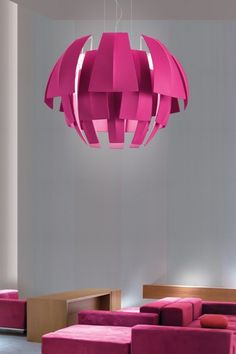 Collection from Axolight consisting of suspended lamps and floor lamps with white metal frame and fabric diffusers covered with flame-retardant TREVIRA® CS. Available in several colours and sizes. Pendant Lighting, Lamp Design, Lamp, Lighting, Large Pendant Lighting, Suspension Lamp, Suspended Lighting Fixtures, Paper Lamp, Ceiling Lights