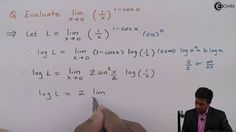 Learn Indeterminate Forms Online | Problem 1 based on Form ∞ ^ 0 | Ekeed...