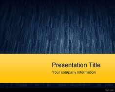 Blue Texture PowerPoint Template