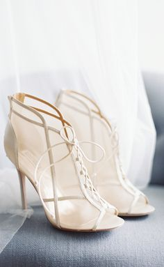 Love these for bridal shoes