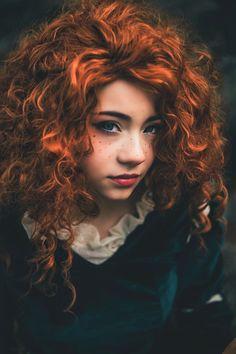 Merida Cosplay, Ginger Hair, Disney And Dreamworks, Smell Good, Character Inspiration, Brave Merida, Hindsight, Photoshoot, Hair Styles
