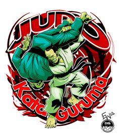 Judo Kata Guruma !