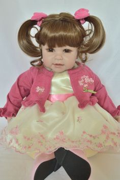 Brittany's - Ivory Fields Outfit for Adora Dolls, $29.99 (http://www.dollshobbiesnmore.net/adora/adora-20-inch-toddler-doll-outfits/ivory-fields-outfit-for-adora-dolls/)