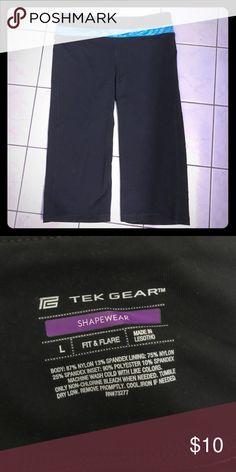 Tek Gear Shapewear Exercise Capris Fit & flare shape wear in very good used condition. tek gear Pants Track Pants & Joggers