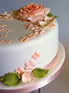 Fancy Birthday Cakes for Women | Little Cakes floral birthday cake | Flickr - Photo Sharing!