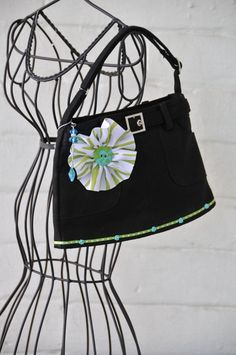 Skirt purse by Swanky Janes, a fun accessory and gift idea for little girls through tweens.