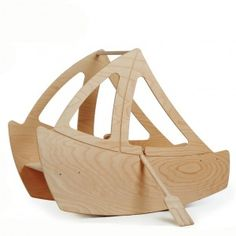 KATTUSKA Boat / Because of the two seats it is possible to use it for two kids at the same time :-) www. 4 Kids, Baby Kids, Children, Baby Baby, Outdoor Toys, Toys Shop, Kids Decor, Decor Ideas, Kids House