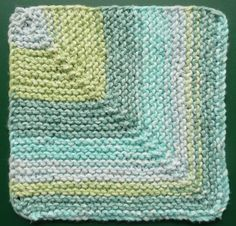 Perfect One-Ounce Dishcloth - FREE Patterns: FREE PATTERN #8 - Go 'ROUND THE BARN One-Ounce Dishcloth