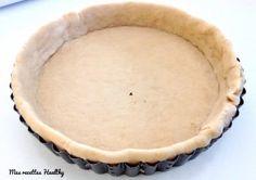 Recette d'une pâte à tarte souple et parfumée à l'huile de coco. Sans oeuf et sans lactose. Pour des tartes sucrées ou salées. Avec données nutritionnelles.