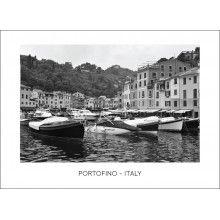 """Juliste """"Portofino - Italy II"""" Portofino Italy, Boat, Dinghy, Boats, Ship"""