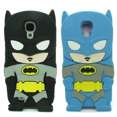 3D Cartoon Batman Case Cover Skin for Samsung Galaxy S4 i9500 (galaxy s4 mini batman cases)