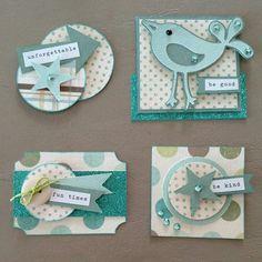 Card accents / embellishments using scraps